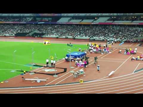 Jonnie Peacock wins the gold medal in T44 100 metres at 2017 World Para-Athletics World Championship
