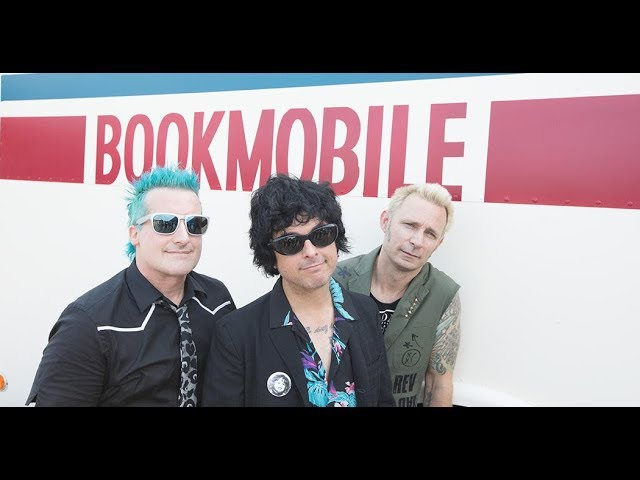 Green Day's Bookmobile Tour Bus ( Inside West Coast Customs)