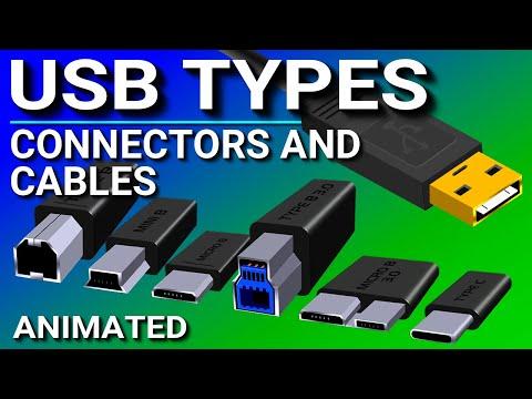 USB Ports, Cables, & Connectors