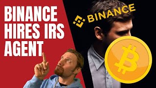 BINANCE HIRES AN IRS AGENT!!  WALMART GOES CRYPTO  BITCOIN, CRYPTOCURRENCY MARKET ANALYSIS LIVE