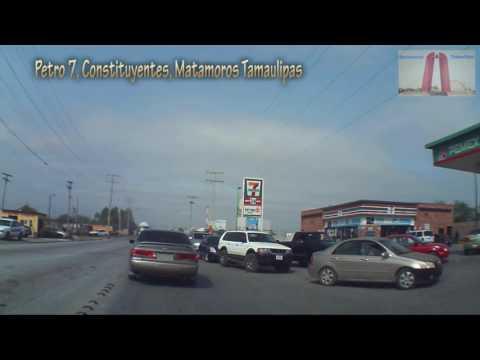 Gasolina mas Barata, $12.89, Litro, Petro 7, Largas filas, Constituyentes, Matamoros Tamaulipas