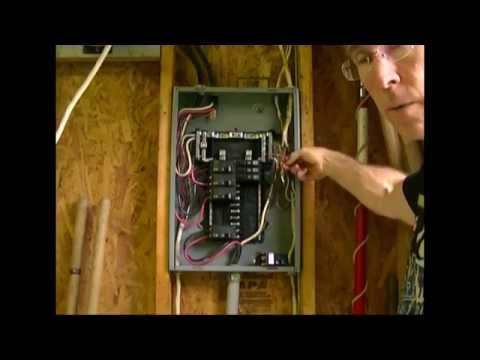 how to add a circuit to a load center (breaker box) youtube Plug Fuse Box Cover Unit
