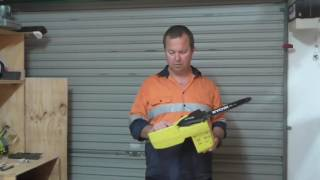 Product Review - Ryobi One+ 18v Chain Saw