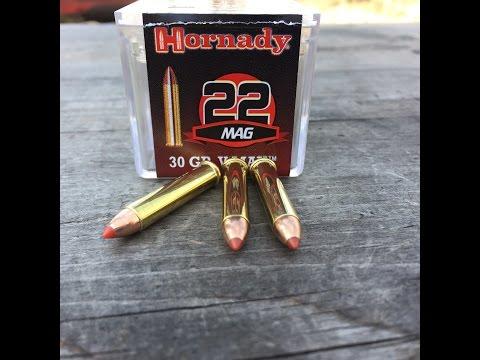 .22 WMR/Magnum, 30gr V-MAX (#83202) Hornady, Performance Testing
