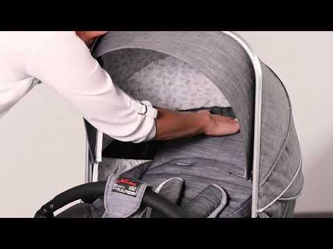 Детская коляска Racer GTS XL 548 Bellybutton с  сумкой. Видео №1