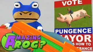 Amazing Frog - NEW UPDATE - PUNGENCE POSTER?! f0.2.7 - PC Gameplay Part 17 | Pungence