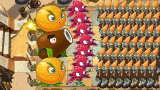 Red Stinger, Coconut Cannon and Citron - Plants vs Zombies 2