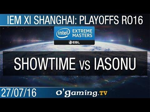 ShoWTimE vs iAsonu - IEM XI Shanghai - Ro16