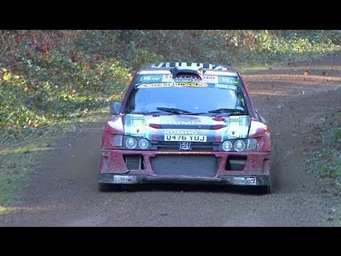 Wyedean Rally 2011 highlights & Andy Burton interview
