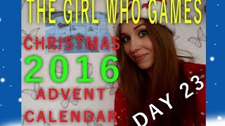 DAY 23: BLUE FOOTPRINTS- The Girl Who Games Sims Freeplay Advent Calendar
