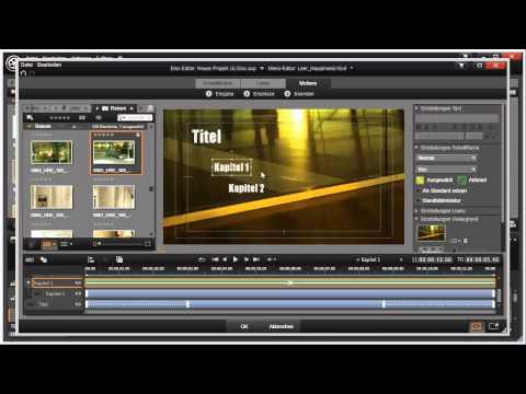 Elemente animieren im Disk Editor von Pinnacle Studio 16 und 17 Video 110 von 114