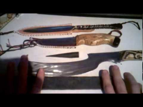 From drawing to the cutting test/ a damascus knife envolves part 1 planing