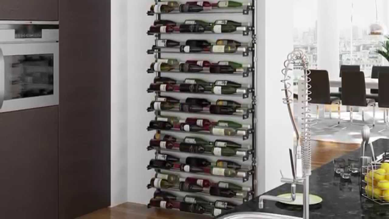 support bouteilles de vin bocani youtube. Black Bedroom Furniture Sets. Home Design Ideas