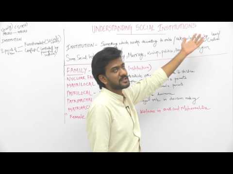 Understanding Social Institutions _ Part1 _ Social Institutions _ Sameer Sagar