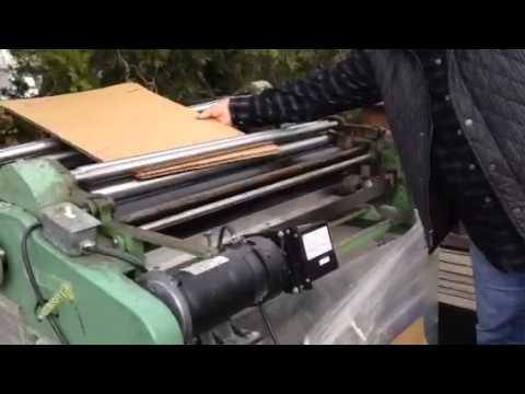 Potdevin NTZ 36 Glue Machine Video