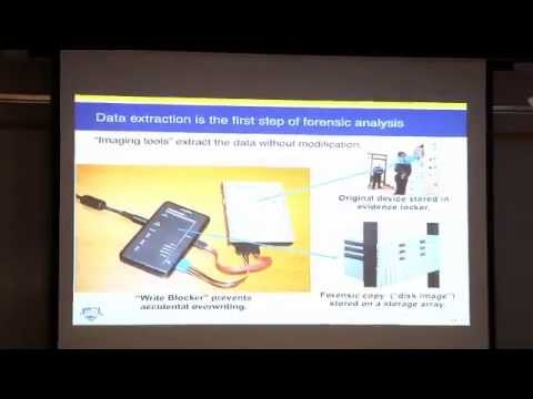 """Digital Forensics Innovation: Searching A Terabyte of Data in 10 minutes"" (CRCS Lunch Seminar)"