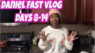 Daniel Fast Vlog Days 8-14 - No Appetite and Forcing Myself to Eat