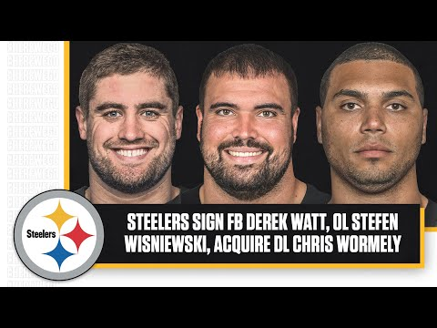 Steelers Sign Free Agent FB Derek Watt, OL Stefen Wisniewski, Trade For DL Chris Wormley