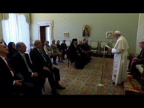 Pope Francis meets Orthodox Church of Greece delegation
