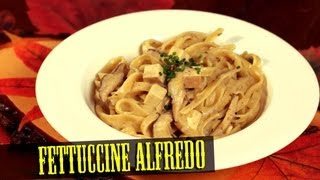 Vegan Fettuccine Alfredo - Cooking With The Vegan Zombie