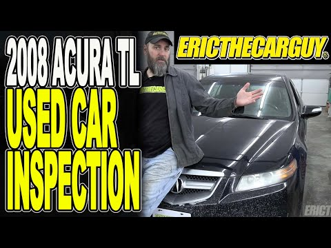 2008 Acura TL Used Car Inspection (What To Look For)