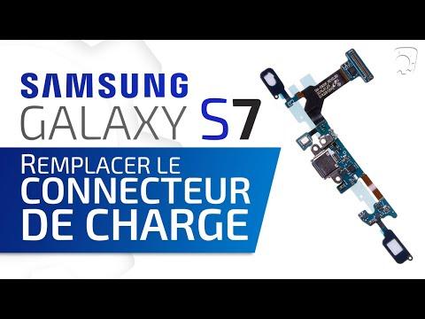 Tutoriel Samsung Galaxy S7 : remplacer le connecteur de charge  HD