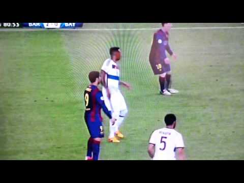 messi's 2nd goal vs bayern champions league