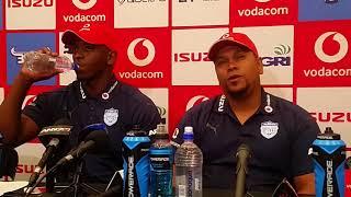 vuclip Supersport Challenge: Blue Bulls presser - David Manuel and Abongile Nonkontwana