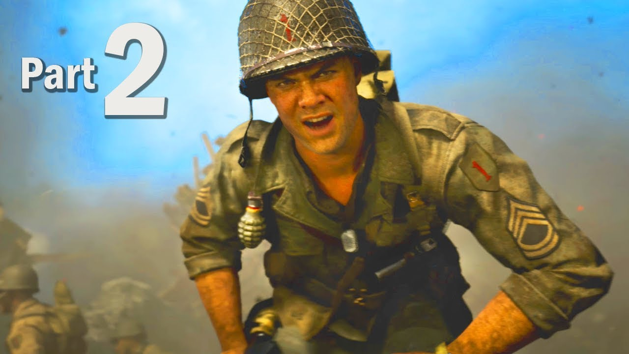 Call of Duty WW2 Walkthrough Gameplay Part #2 - Campaign Mission 3 + 4 (COD  2017)