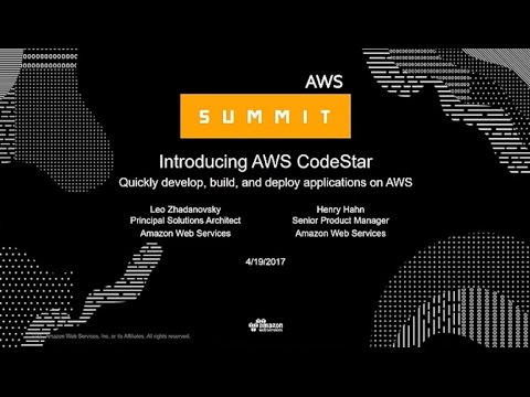 NEW LAUNCH! AWS CodeStar: The Central Experience to Quickly Start Developing Applications on AWS
