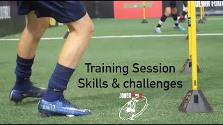 WHAT A START TO 2020 | Ultra Football Training Session | Joner 1on1