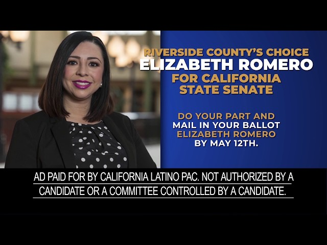 Elizabeth Romero for CA Senate 2020 - CA Latino PAC
