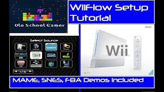 How to Setup Arcade Emulator / MAME with WiiFlow and box art with demos!!