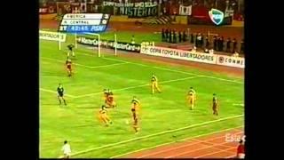 29/05/01 America de Cali 3 - Rosario Central 2 -  Copa Libertadores - 4tos de final