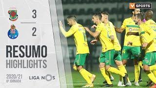 Highlights   Resumo: Paços de Ferreira 3-2 FC Porto (Liga 20/21 #6)