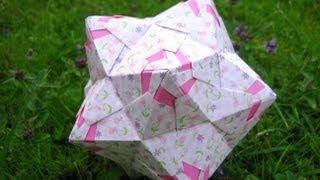 Origami ❃ Chandelle ❃ Kusudama