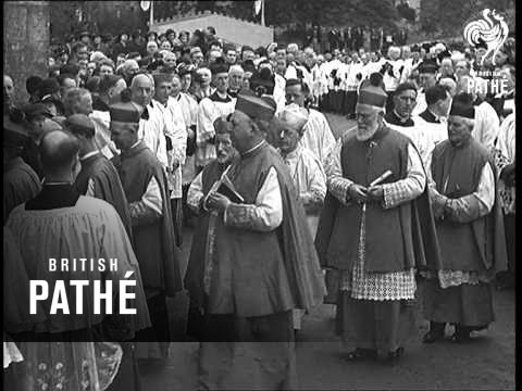 New Bishop Of Kilmore Consecrated On Sleeve As New Bishop Of Kiumore (1937)