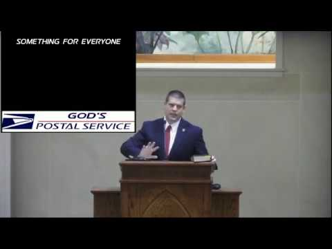 Chad Dollahite - 10/22/17 - a.m. - The Church:  God's Post Office