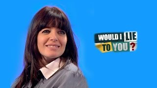 Claudian Chicanery - Claudia Winkleman on Would I Lie to You? [HD -EN, NL]