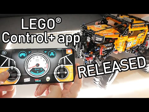 LEGO Control+ App Is Released Now | LEGO Technic 42099 4x4 X-treme Off-Roader | LEGO 42099