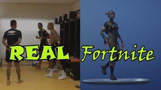 Corridinha Fortnite in Real life-Neymar dancing