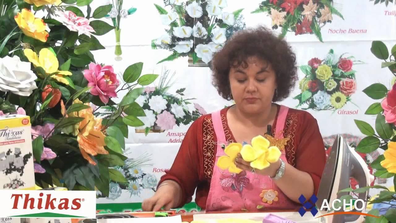 Girasoles Moldes de Flores para hacer Arreglos Florales en Fomi, Goma EVA  HD by MoldesyManualidades