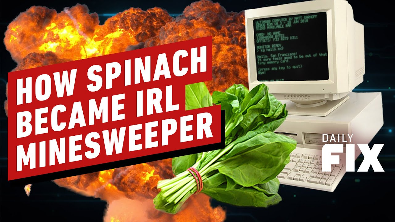 Spinach Can Now Detect Landmines - IGN Daily Fix