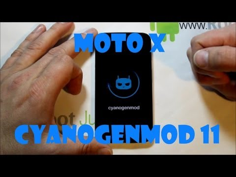 How to install CyanogenMod 11 KitKat rom on the Moto X