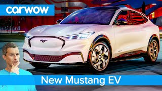 ALL-NEW Ford Mustang EV 2020 - see what the famous muscle car has turned into!
