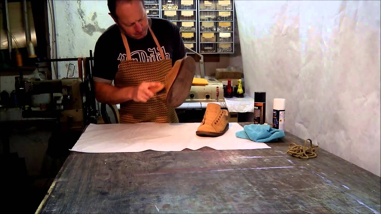 nettoyage de chaussures en daim 2 youtube. Black Bedroom Furniture Sets. Home Design Ideas