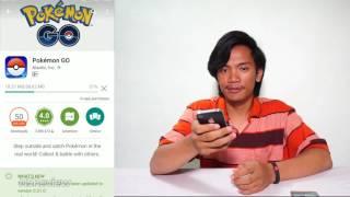 Cara Download dan Main Pokemon Go dari Play store Android App Store iOS