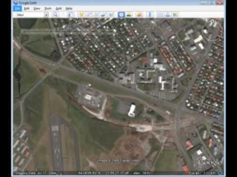 Google earth historical view of Reykjavik