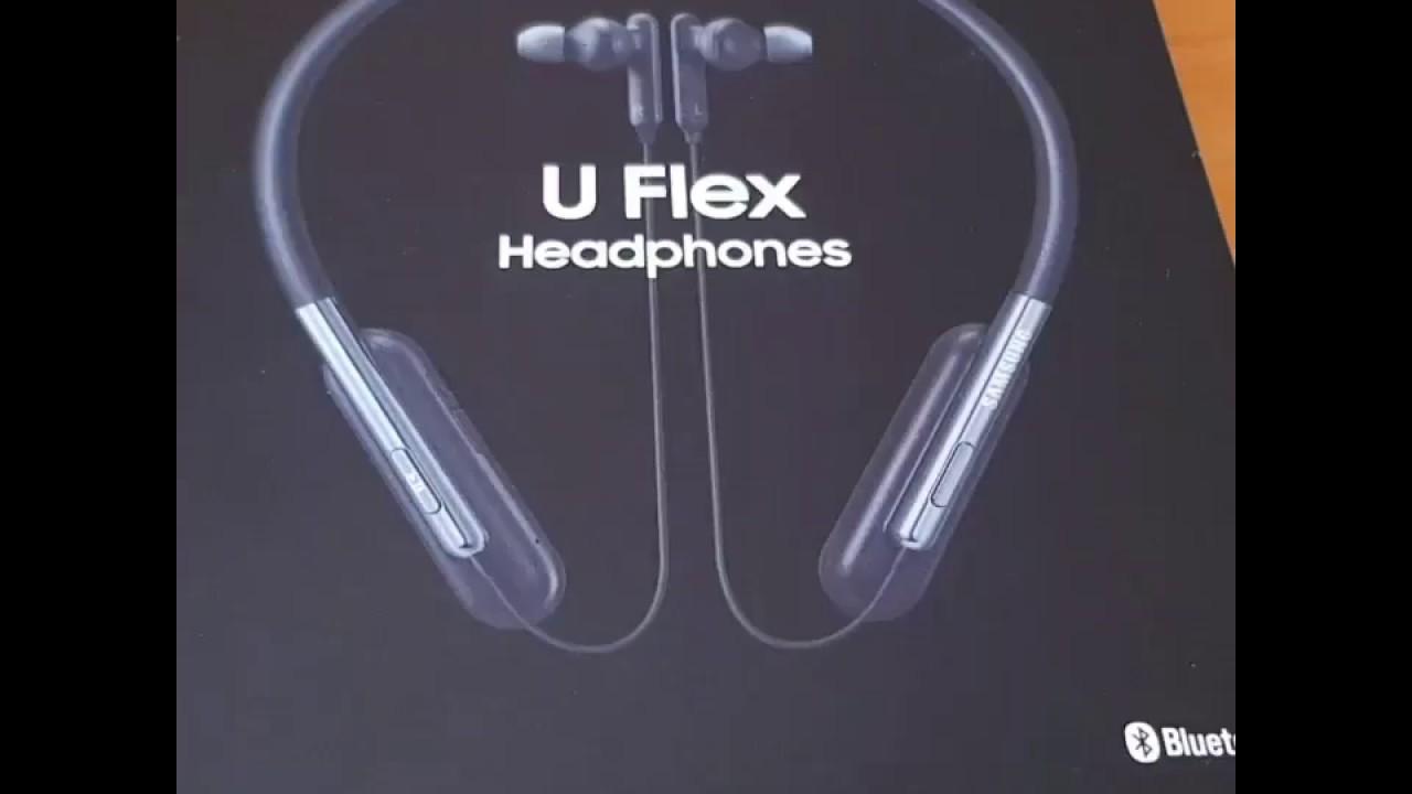 buy popular ba393 2210e Samsung U Flex headphones EO-BG950 unboxing