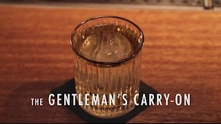 The Gentleman's Carry-On: A High Concept Cocktail from Jonathan Howard - Liquor.com